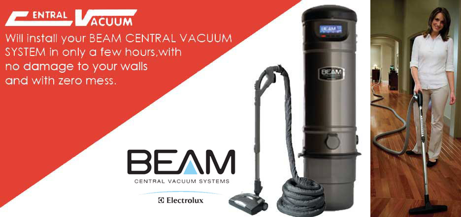 Central Vacuum, in-house vacuum, professional instillation
